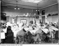 University of Toronto Schools - students in art class