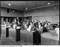 University of Toronto Schools - students in chemistry laboratory