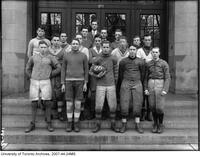 University of Toronto Schools - football players group portrait