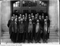 University of Toronto Schools - group portrait of teachers