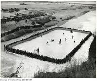 C.O.T.C. -Hockey Game on outdoor rink