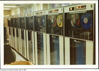 IBM 7094 computer at the Computer Centre, University of Toronto