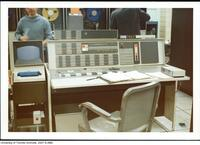 Console of the IBM 7094 computer at the Computer Centre, University of Toronto