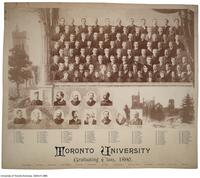 Toronto University, Graduating Class, 1890