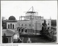 Convocation Hall - under construction