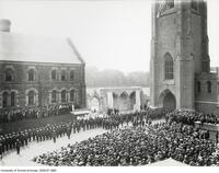 Dedication of Soldiers' Tower, June 5, 1924