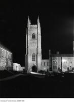 Soldiers' Tower, illuminated Oct. 6, 1927