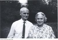 Donald Coxeter with wife Rien