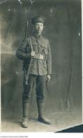 Harry Cassidy in World War I uniform