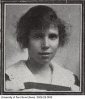 Kathleen Mary Asman, B.A. 1920 from University College