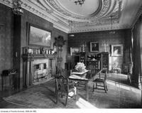 Interior view of Holwood (Flavelle House), 78 Queen's Park Crescent, showing the dining room