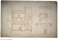 University of Toronto [University College] - Drawing No.23 East Wing