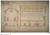 University of Toronto [University College] - Drawing No.10 Sections of Museum