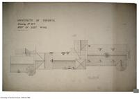 University of Toronto [University College] - Drawing No.16a Roof of east wing