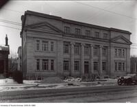 Household Science Building, side view, Bloor St. entrance