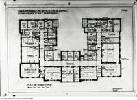 Household Science Building, Plan of 3rd Floor