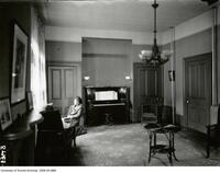 Interior view of a room, Queen's Hall, Women's Residence