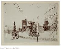 University College from East - Winter Scene 1896