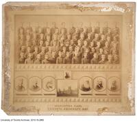 Toronto University, Graduating Class of 1887