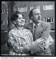 Marshall McLuhan and his wife Corrine
