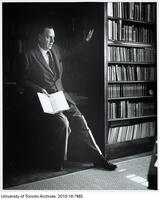 Marshall McLuhan in office