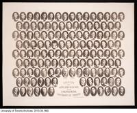 Faculty of Applied Science and Engineering, Graduating class portrait, 1927.