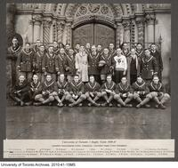 University of Toronto I Rugby Team, 1920-21 Canadian Intercollegiate Union Champions, Canadian Rugby Union Champions
