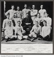 UofT Association Football Team, 1892-93. (Champions of Canada)