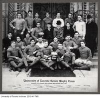 University of Toronto Senior Rugby Team, Champions of the Canadian Inter-collegiate Rugby Football Union, 1899