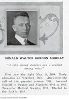 Donald Walter Gordon Murray