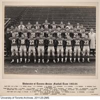 University of Toronto Senior Football Team, 1963-1964