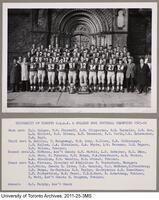 University of Toronto O.Q.AA and College Bowl Football Champions, 1965-66