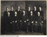 Executive of the University of Toronto Parliament, 1905/06