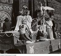Homecoming Float - St. Michael's College, Oct. 1950