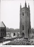 Dedication ceremony for Soldier's Tower, June 4 1924