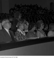 Pauline McGibbon at convocation for the Ontario Institute for Studies in Education, June 13 1975