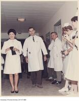James Till with Princess Margaret who visited the Princess Margaret Hospital in 1967.