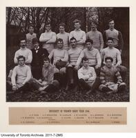 University of Toronto Rugby Team, 1894