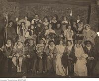 "The cast of ""As you like it"", 1908"