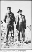 Harold Innis with T.W. Harris, North West Territory