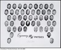 Faculty of Applied Science and Engineering Graduating Class for Engineering Physics