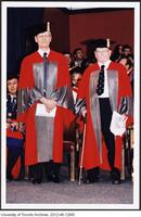 Dr. James Till and Dr. Ernest McCulloch awarded an Honorary Degree from the University of Toronto June 9 2004