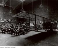 Royal Flying Corps - Canada. Lecture on airmanship, No. 4 School of Military Aeronautics, University of Toronto