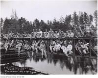 'A' Platoon I Coy. Canadian Officers Training Corp - University of Toronto Petawawa May 10 1945