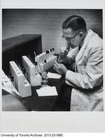 Albert H. Lacey, Chief chemist of the Insulin Committee, Connaught Laboratories