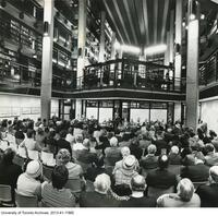 Dedication of the Thomas Fisher Rare Book Library