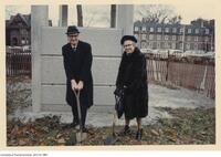 Ground breaking ceremony for Robarts Library. Nov 18 1969