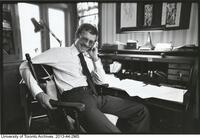 Prof. John Allan Lee in his office