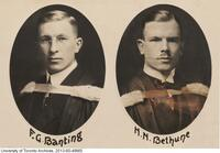 Frederick Banting and Norman Bethune graduating portraits.
