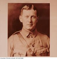 John McCrae in World War I uniform.